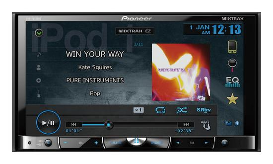 DVD Automotivo Pioneer AVHX8550BT Bluetooth