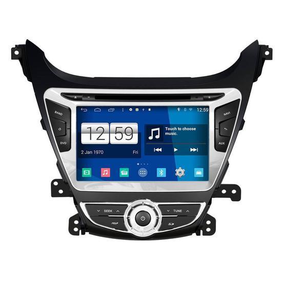 "Central Multimidia Winca Hyundai Elantra M359D 8"" S160 Android V.4.4 2015"