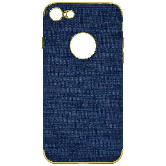 Capinha para iPhone 7/8 Wesdar - Azul/Dourada
