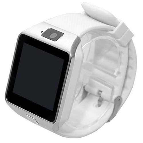 Smartwatch SW-600 com Bluetooth - Branco / Prata $