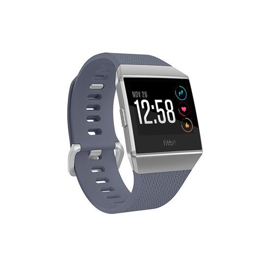 Relogio Smartwatch Fitbit Ionic Small + Large Cinza Azul / Cinza Prata
