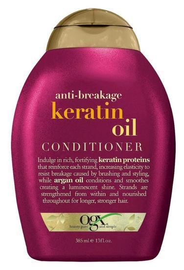Condicionador Ogx Anti-Breakage + Keratin Oil - 385ML