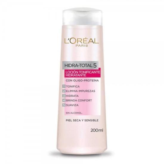 L'Oreal Paris Hidra-Total 5 Tonico Facial Hidratante Pele Seca e Sensivel 200ML