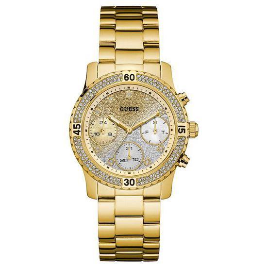 b9b645c8bad Relogio Feminino Guess W0774L5 Confetti - Dourado