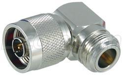W. Conector AXA-NMNF90 N-Macho-Angulo Direito N-Femea