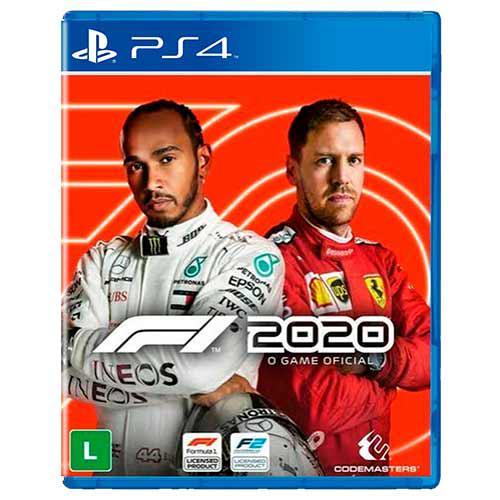 Jogo Formula 1 2020 PS4