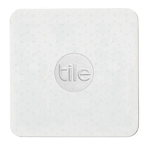 Localizador Bluetooth Tile Slim Compativel com Ios e Android - Kit de 4 Tiles - Branco