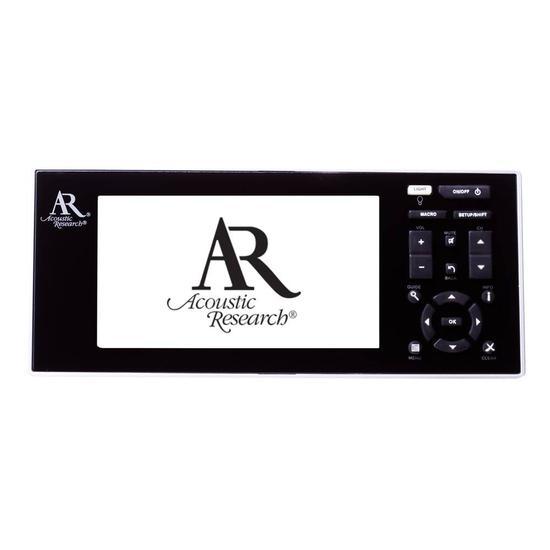 Controle Universal Ar Acoustik R1540