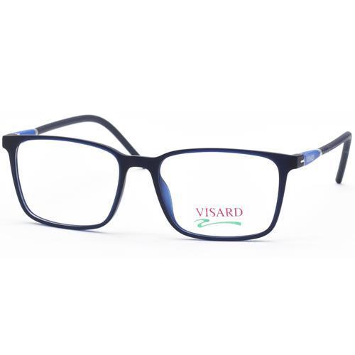242ef198d Oculos de Grau Visard MZ08-16 Masculino, Tamanho 52-17-140 C4 - Azul Escuro