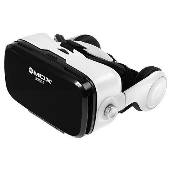 515924c5b Oculos de Realidade Virtual Mox 3DVR10 com Fone de Ouvido - Branco