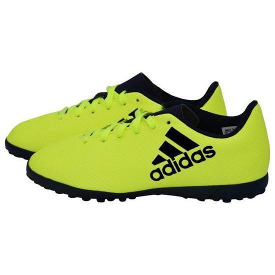 Chuteira Adidas X 17.4 TF Infantil No 31.5 - Amarela na loja Mega ... c471e465568ae