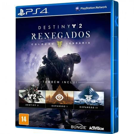 Jogo Destiny 2 Renegados Colecao Lendaria PS4