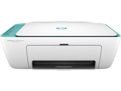 Impressora HP Deskjet 2675 Aio Branca Bivolt