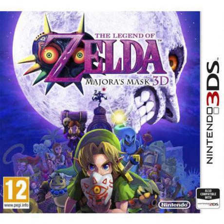 Jogo The Legend Of Zelda Majoras Mask 3DS