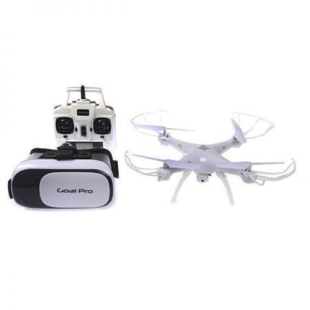 705eb0049c843 Drone Goal Pro Intruder H33 - Wi-Fi - 2.4GHZ de 6 Eixos - Camera + ...