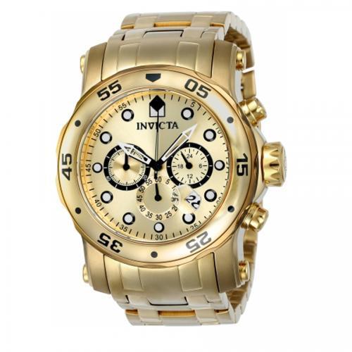 7dd874497a5 Relogio Invicta 23652 Pro Diver - Dourado   na loja Victoria Store ...