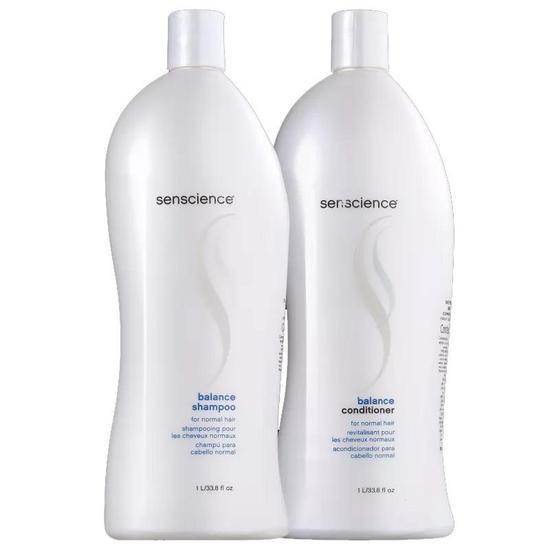 Kit Senscience Balance Duo Shampoo e Condicionador 1LT
