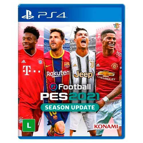 Jogo Efootball Pes 2021 PS4