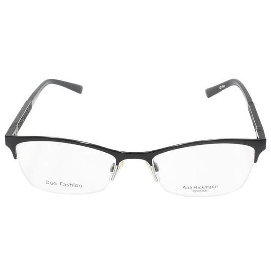 27afa0b3e91e2 Armacao para Oculos de Grau Ana Hickmann AH1282-09AS Feminina - Preta
