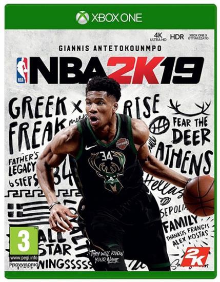 Jogo Nba 2K19 Giannis Antetokounmpo - Xbox One