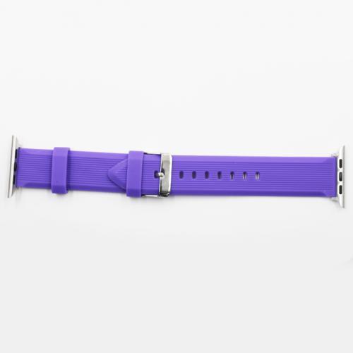 Pulseira 4LIFE de Silicone Linhas Verticais para Apple Watch - 38MM - Roxo