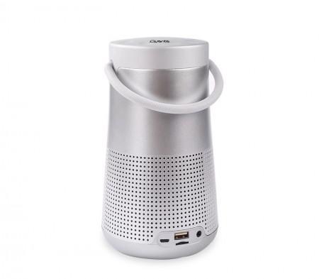 Caixa de Som Quanta Portatil QTSPB38 Bluetooth 8W FM USB MP3 Aux-Prata