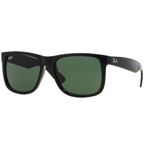 88eec945d7ebc Oculos de Sol Ray-Ban Justin Classico RB4165 601 8G, Unissex, Tamanho 55-16  3N, Acetado - Preto