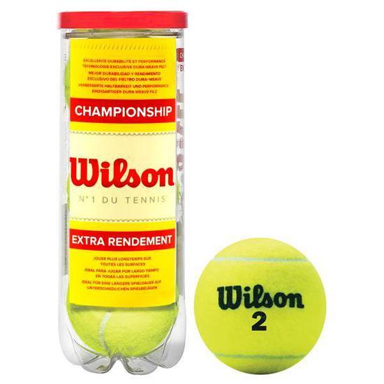 6b013fa2c Bola de Tenis Wilson Championship Extra Duty - 3 Unidades na loja ...