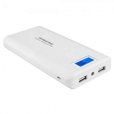 Carregador USB Pineng PN-929 15000MAH Branco