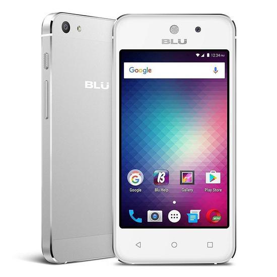 """Smartphone Blu Vivo 5 Mini V050EQ 4.0"""" 8GB 512MB Ram Dual 3G Prata"""