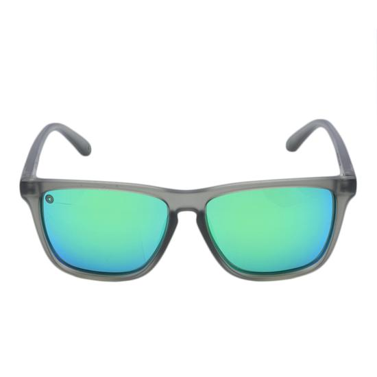 Oculos Knockaround Fast Lanes Frosted Grey/Green Moonshine Polarized FLGM3003