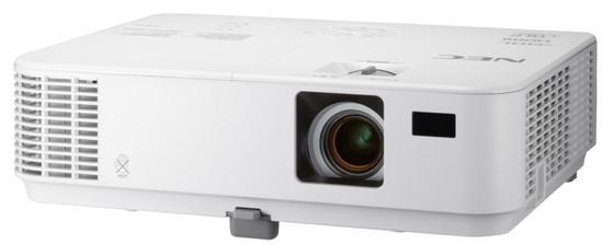 Projetor NEC NP-V332W 3300L Wxga/ HDMI/ VGA/ RJ45/ Bivolt/ 3D - Branco