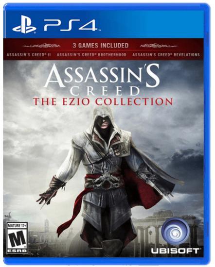 Jogo Assassin's Creed The Ezio Collection Trilogie Culte - PS4