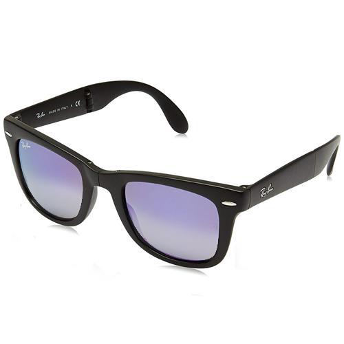 211fa48f1 Oculos de Sol Ray-Ban Wayfarer Folding RB4105 601S/32, Unissex, Tamanho  50-22 3N, Dobravel, Acetato - Preto