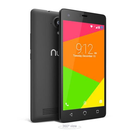 Celular Nuu N4L 5.0 4G 8GB 1CHIP Preto