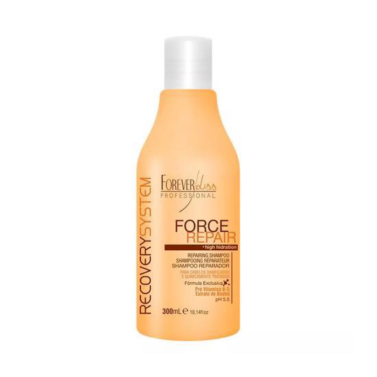 Forever Liss Force Repair Shampoo Reparador 300G