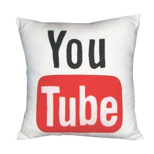 Almofada Youtube Geek Pillow