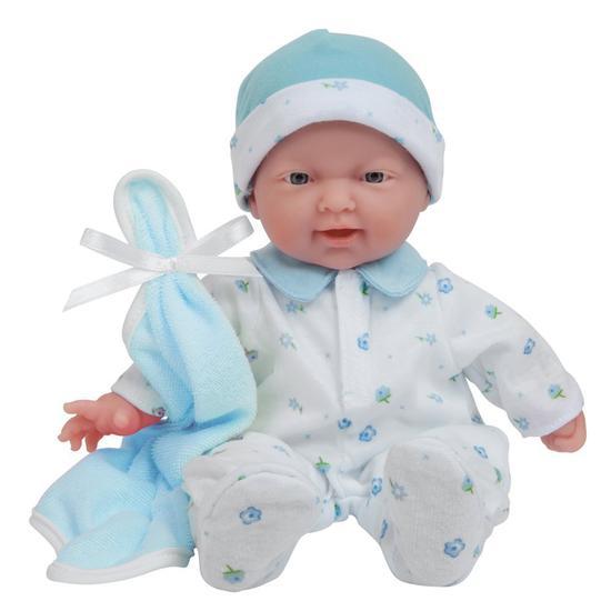 JC Toys Boneca 13111 28CM Menino Roupa Azul