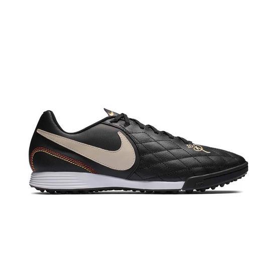Chuteira Nike Masculina Legend 7 Academy R10 TF Preto/Branco