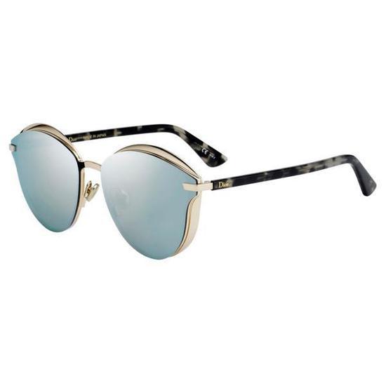 Oculos de Sol Dior Murmure  278  62DC Feminino - Dourado Havana na ... 47d088e21f