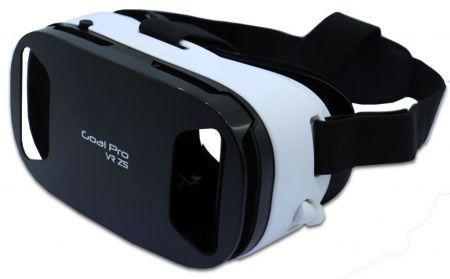 Oculos Goal Pro Gear VR Z5 - com Fone de Ouvido - Preto e Branco 1ef5c47580