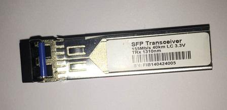 F. M SFP 155M 40KM LC TRX1310NM Duplex