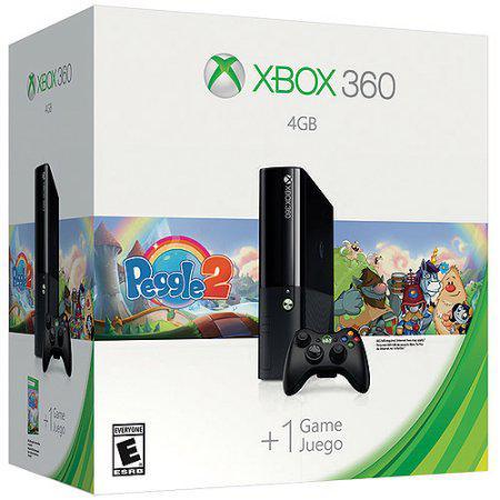 Caixa Vazia Xbox 360 Super Slim 4gb Peggle 2 Original Na Loja Star