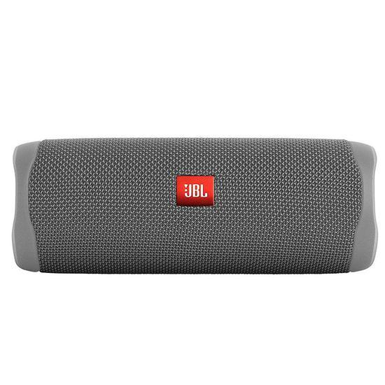 Caixa de Som de Som JBL Flip 5 Bluetooth - Cinza