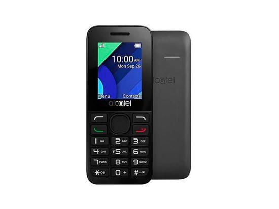 Celular Alcatel 1054D Dual Chip 32MB Preto