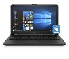 "Notebook HP 15-BS289WM PENTIUM-N5000 1.1GHZ / 4GB / 1TB / 15.6"" HD Touch Screen - Windows 10 Ingles - Preto"