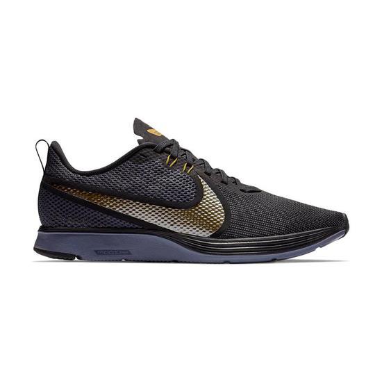 Tenis Nike Masculino Zoom Strike 2 PretoDourado na loja