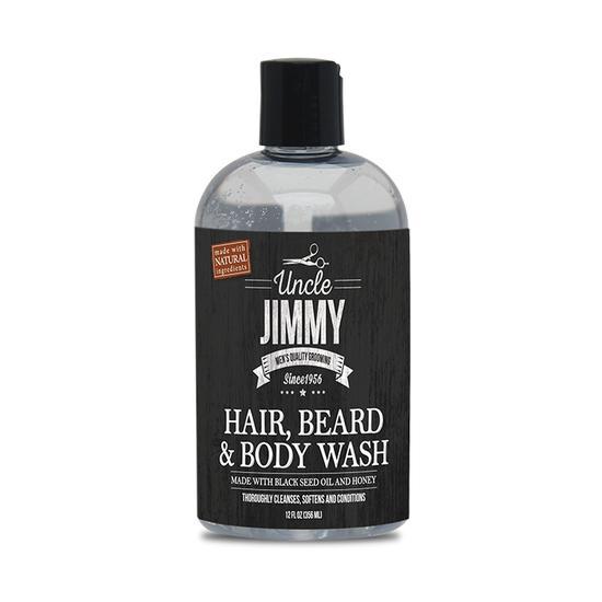 Shampoo para Barba e Cabelo Uncle Jimmy 356ML