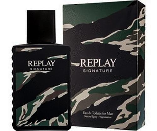 Perfume Replay Signature 100ML Edt Masculino