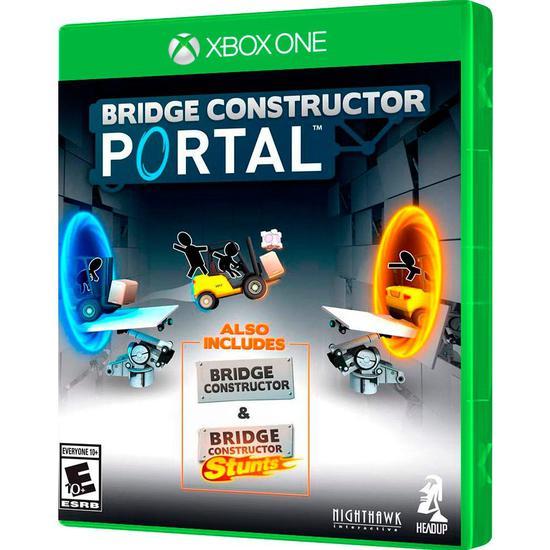 Jogo Bridge Constructor Portal Xbox One
